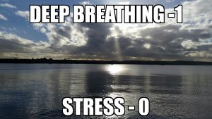 Stress and anxiety management. Take control and breathe.