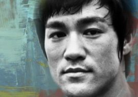 Image Bruce Lee who exemplifies Practice to make Perfect. Use that idea to make Practice become Happiness.